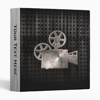Appareil-photo de film rocailleux classeur vinyle