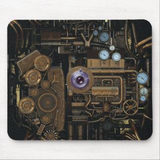 Appareil-photo de vitesse de mesure de Steampunk Tapis De Souris