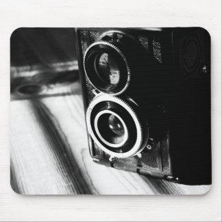 Appareil-photo vintage tapis de souris