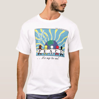 APPAREL, ETC:  WORLD PEACE SHIRT
