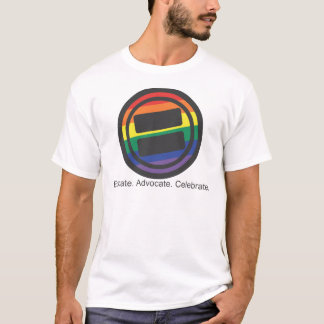 Apparel - Large LGBT Round with Tag Front T-Shirt