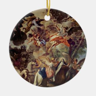 Apparition of St. Joseph to St. Theresa Ceramic Ornament