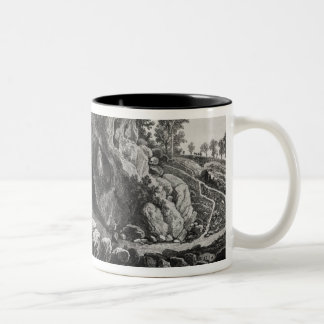 Apparition of the Virgin Mary Two-Tone Coffee Mug