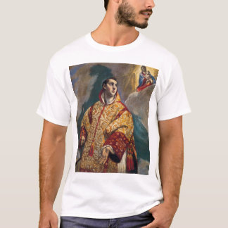 Apparition of the Virgin to St Lawrence T-Shirt