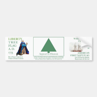 Appeal to Heaven Liberty Tree Flag, Washington Bumper Sticker