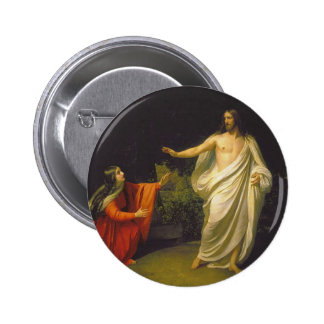 Appearance of Jesus Christ to Maria Magdalina 2 Inch Round Button