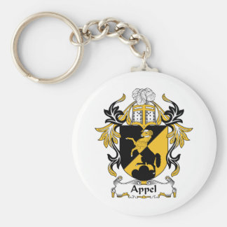 Appel Family Crest Keychain