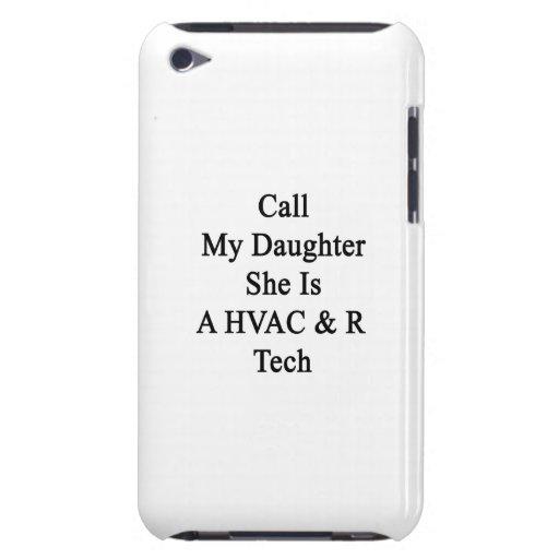 Appelez ma fille qu'elle est une technologie de la étuis barely there iPod