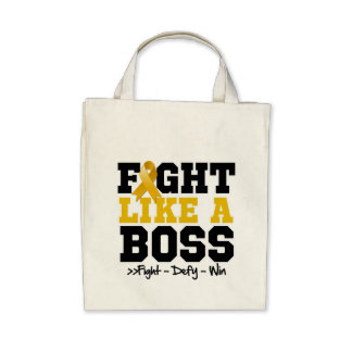 Appendix Cancer Fight Like a Boss Bag