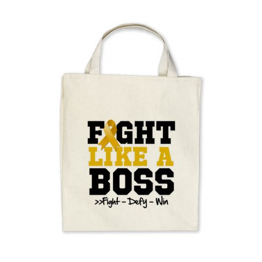Appendix Cancer Fight Like a Boss Bag
