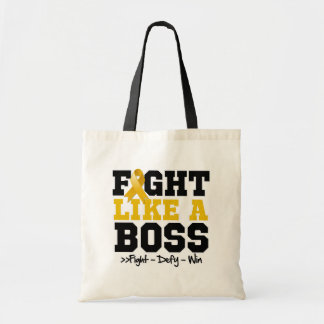 Appendix Cancer Fight Like a Boss Bags