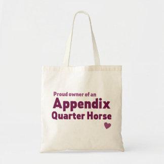 Appendix Quarter Horse Tote Bag