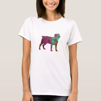 Appenzell Cattle Dog in watercolor T-Shirt