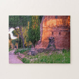 Appia Antica Roma. Jigsaw Puzzle