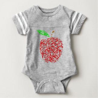 apple2 baby bodysuit