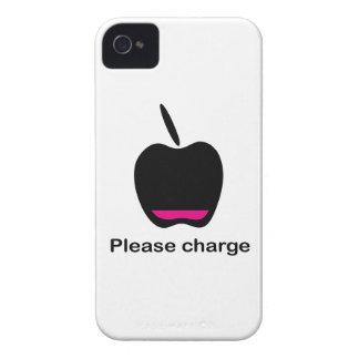 Apple accumulator empty iPhone 4 Case-Mate case