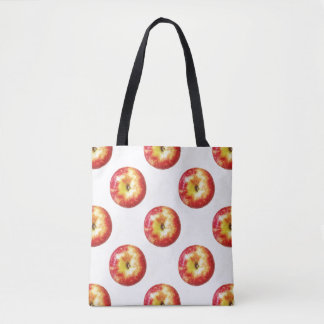 Apple All-Over-Print Tote Bag