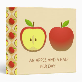 Apple and a Half 3 Ring Binder