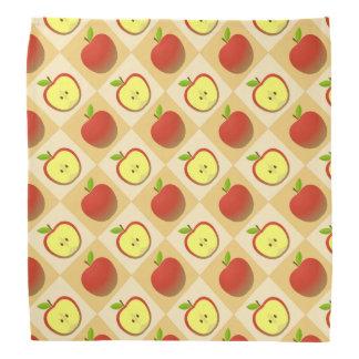Apple and a Half pattern Bandana