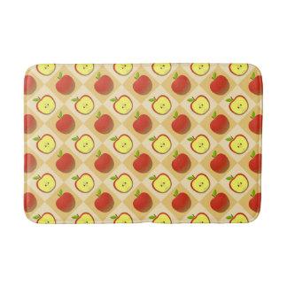 Apple and a Half pattern Bath Mat