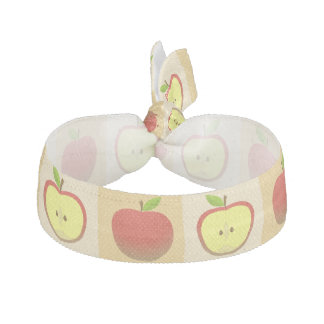 Apple and a Half pattern Hair Tie
