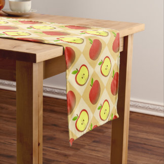 Apple and a Half pattern Short Table Runner