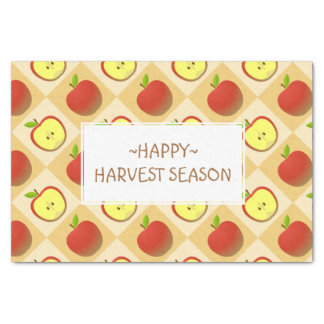 Apple and a Half pattern Tissue Paper
