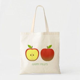 Apple and a Half pattern Tote Bag