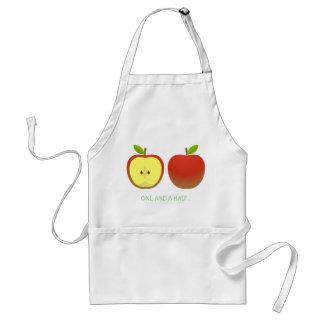 Apple and a Half Standard Apron