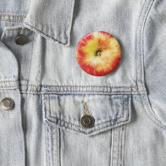 Apple Badge 2 Inch Round Button
