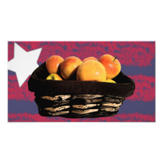 Apple Basket Photo Print