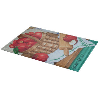 Apple Basket Still Life - Cutting Board