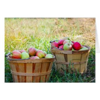 Apple Baskets Card