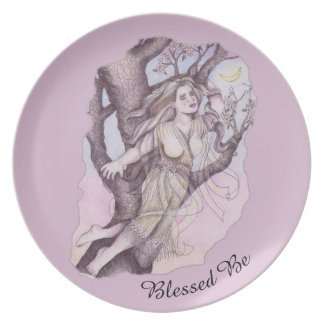 Apple Blossom Dryad Fairy Faerie Offering Dish