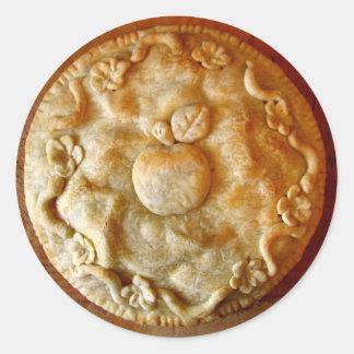 Apple Blossom Pie Classic Round Sticker
