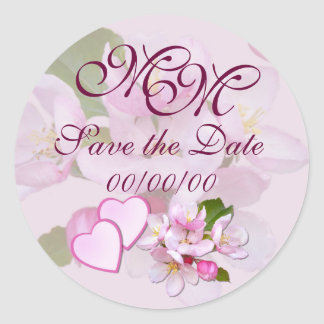 APPLE BLOSSOM ~ Save The Date ~ Stickers