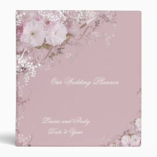 Apple Blossoms 3 Ring Binder