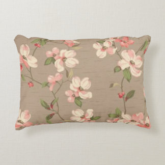 Apple Blossoms Accent Pillow