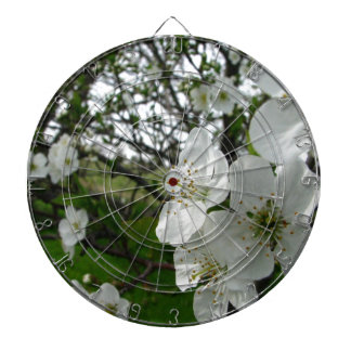 Apple Blossoms Dartboard