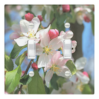Apple Blossoms Flowers Light Switch Cover