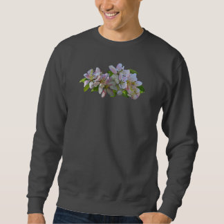 Apple Blossoms Mens Sweatshirt