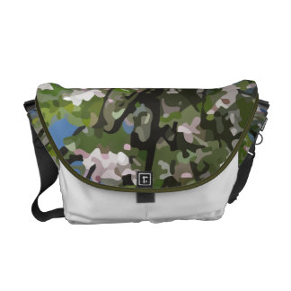 Apple Blossoms Messenger Bag