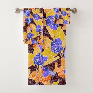 Apple Blossoms Pattern Bath Towel Set