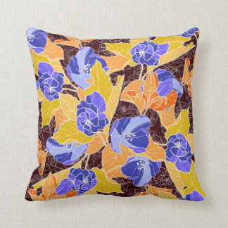 Apple Blossoms Pattern Throw Pillow