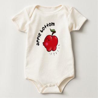 Apple Bottom Rompers