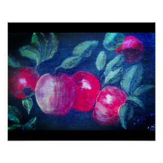 Apple bunches. poster