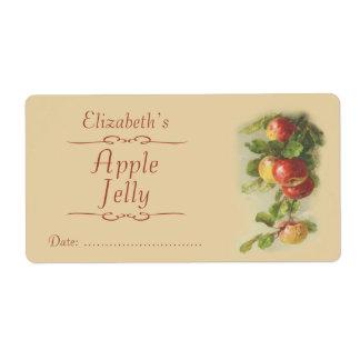 Apple Canning label