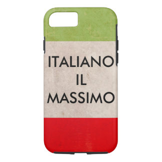 Apple cell phone case .  proud to be Italian