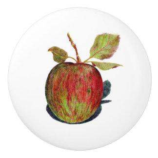 Apple Ceramic Knob