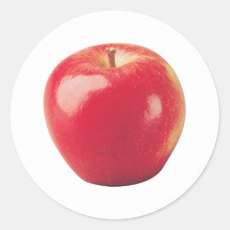 Apple Classic Round Sticker